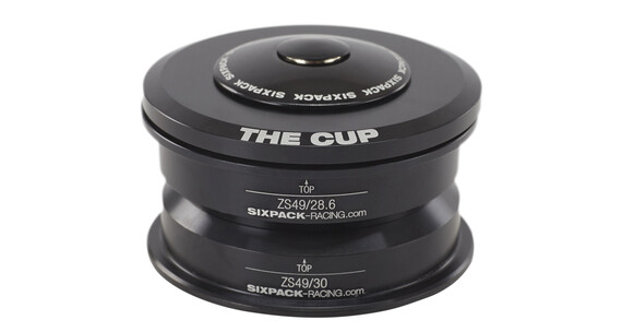Sixpack The Cup Styrfittings semi-integreret ZS49/28.6 I ZS49/30 sort